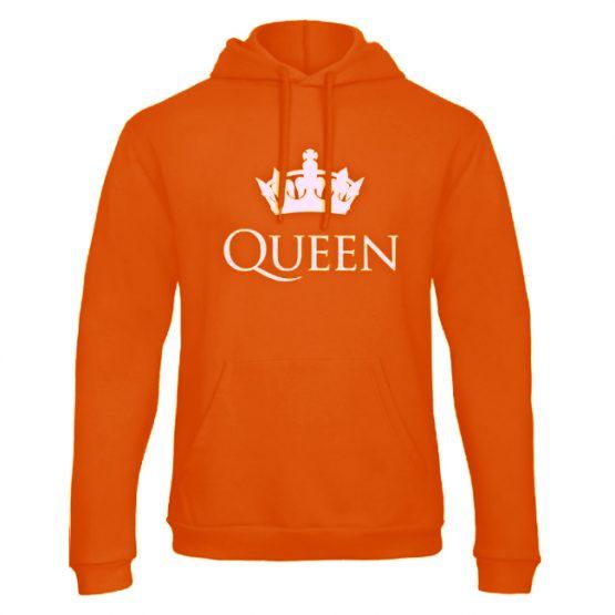 Koningsdag hoodie sweater Classic Queen