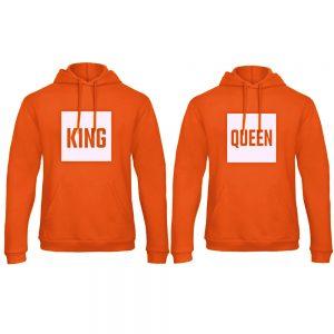 Koningsdag hoodie trui