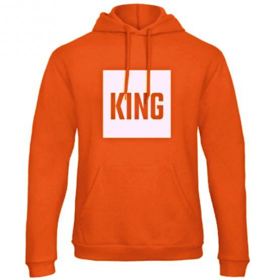 Koningsdag hoodie trui King