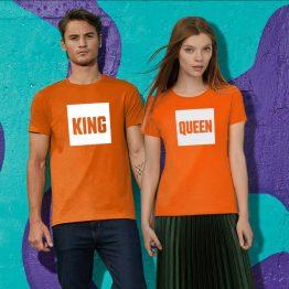Koningsdag shirt Blok sfeerfoto