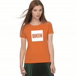 Koningsdag shirt Queen Blok