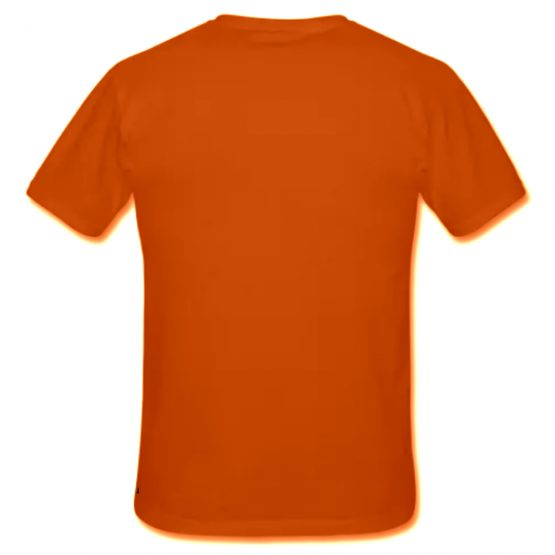 Koningsdag shirt oranje voorkant