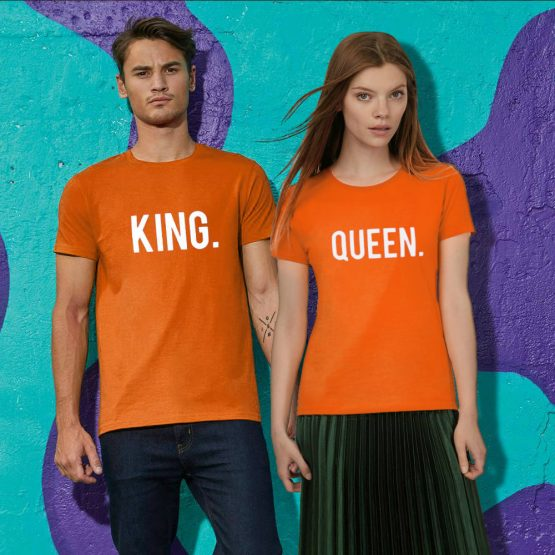 Koningsdag shirt sfeerfoto