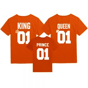 Koningsdag shirts King Queen Prince