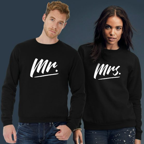 Mr en Mrs trui sweater sfeerfoto