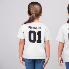 Princess 01 shirts wit
