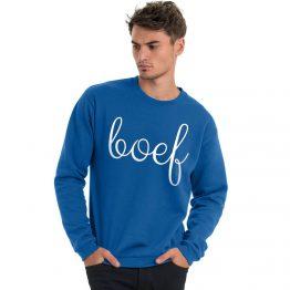 Boef trui blauw