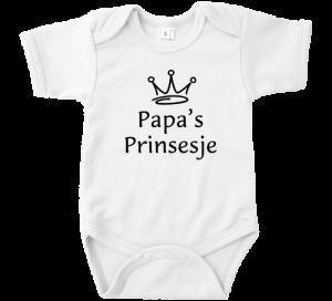 Papa Prinsesje Romper