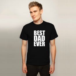 Vaderdag shirt Best Dad ever