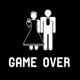 Game Over Vrijgezellenshirt