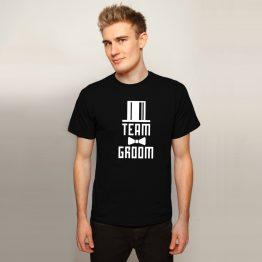 Vrijgezellenshirt Team Groom