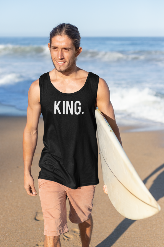 King hemd tank top