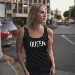 Queen hemd tank top