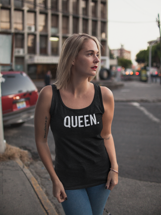 Queen hemd tank top