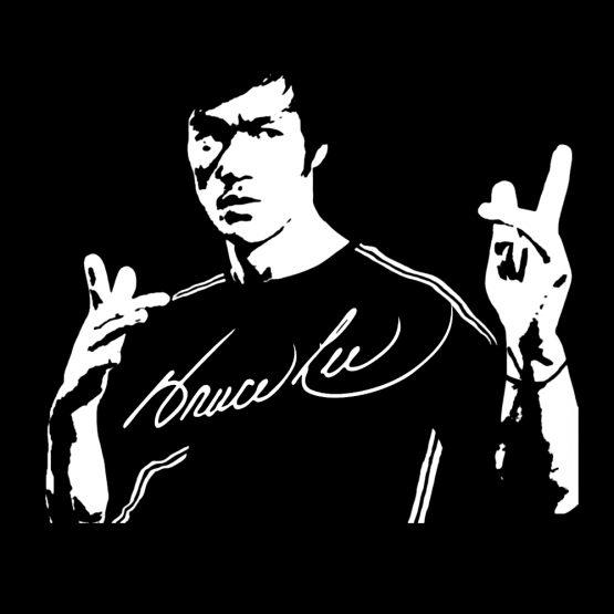 Bruce Lee shirt Classic bedrukking