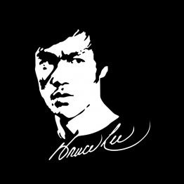 Bruce Lee shirt Face bedrukking