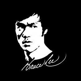 Bruce Lee shirt Face bedrukking