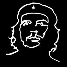 Che Guevara shirt Outline 1