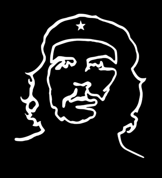 Che Guevara shirt Outline 1
