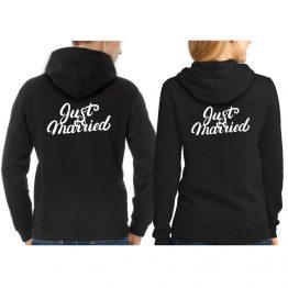 Just Married Hoodie sweater 1