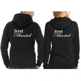 Just Married Hoodie 2