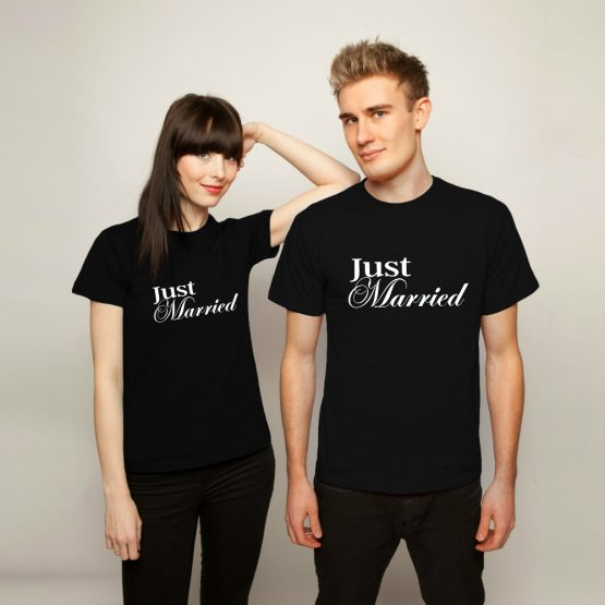 Just Married shirts 2