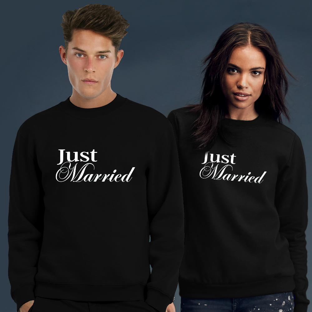 ab073a7f1b9577 Just Married sweater kopen