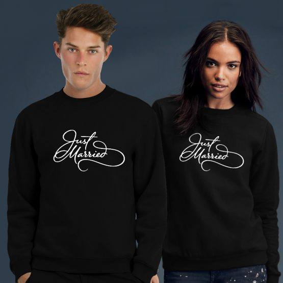 Just Married sweater trui 3