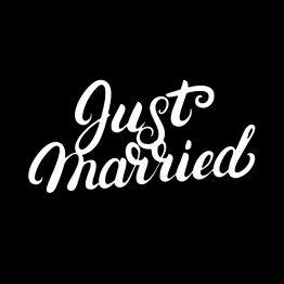 just married shirt bedrukking 1