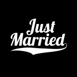 just married shirt bedrukking 4