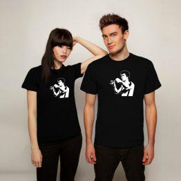 Bruce Lee shirt silhouet