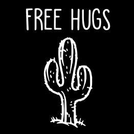 Free Hugs kleding cactus