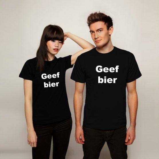 Geef Bier shirt