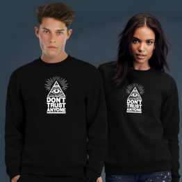 Illuminati sweater trui dont trust
