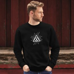 Illuminati sweater trui eye modern