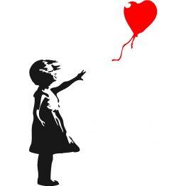 Banksy Sweater Balloon Girl