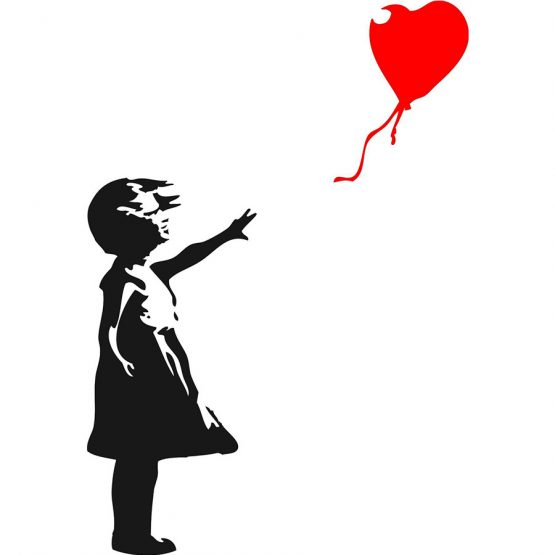 Banksy Sweater Balloon Girl