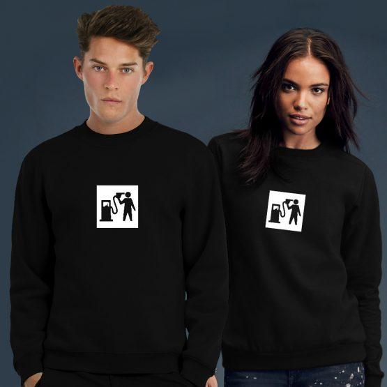 Banksy Trui Sweater Petrol