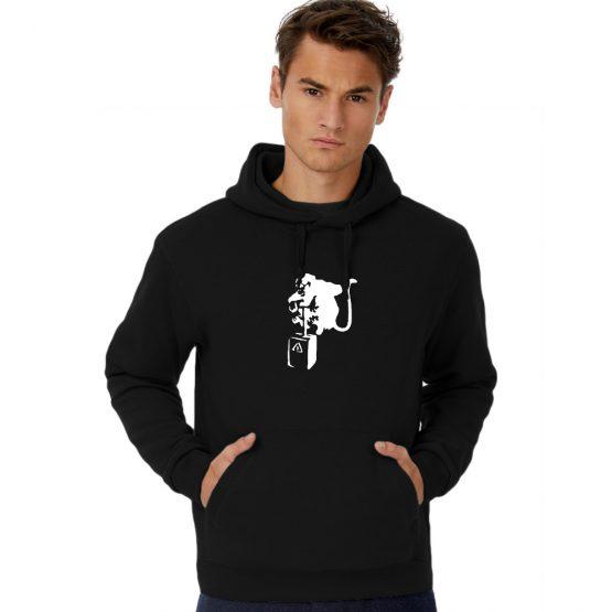 Banksy hoodie Monkey