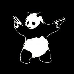 Banksy sweater panda