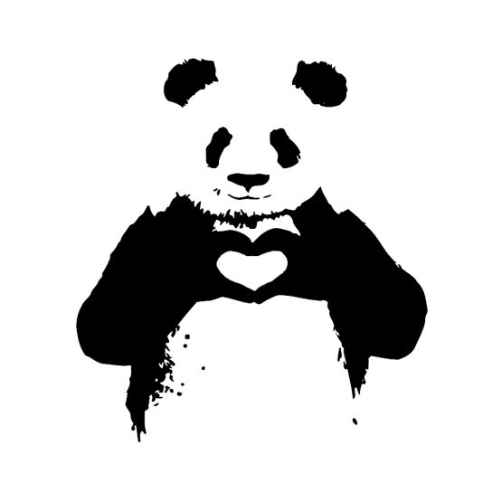 Banksy trui panda