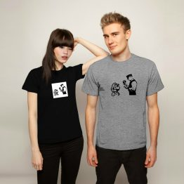 Banksy t-shirt Mario Police