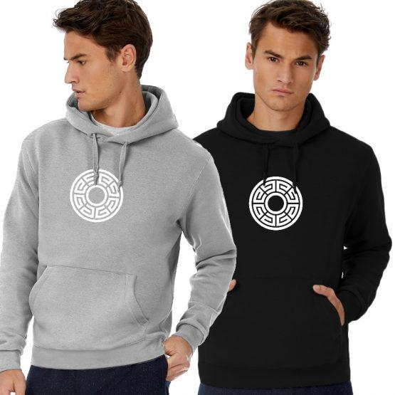 Aztec hoodie Round Simple