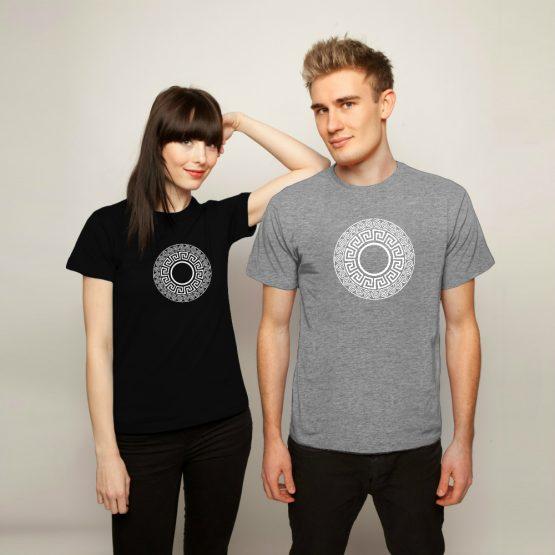Aztec shirt Complex Grijs zwart
