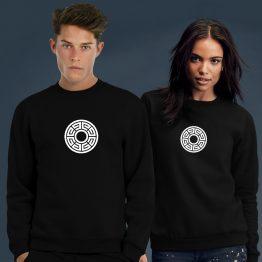 Aztec sweater trui Round