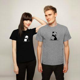 Panda Shirt Sad