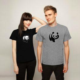 Panda Shirt Scratch