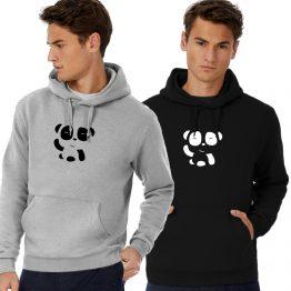 Panda hoodie trui Hi