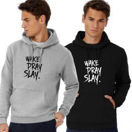 wake Pray Slay Hoodie Sweater