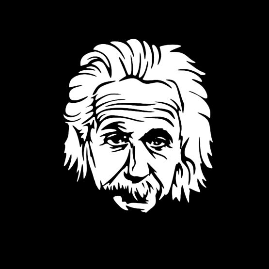 Albert Einstein head 1
